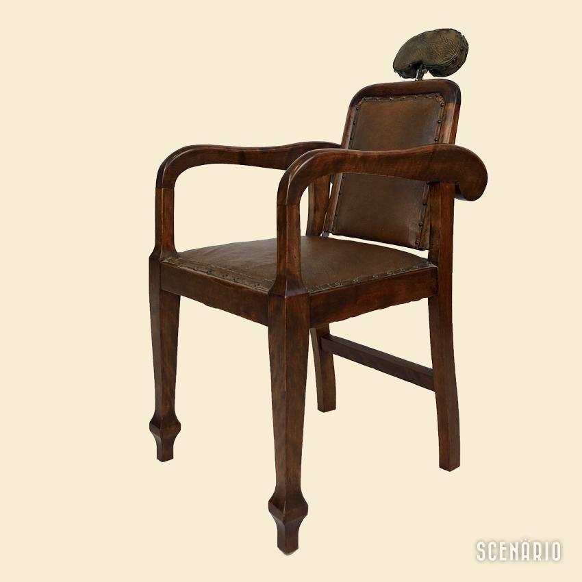 Antica sedia da barbiere - Negozio Vintage Modernariato ...